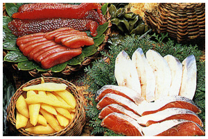 Salmon and Trout prepared products