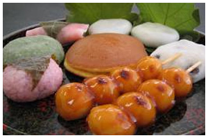 Japanese sweets for export